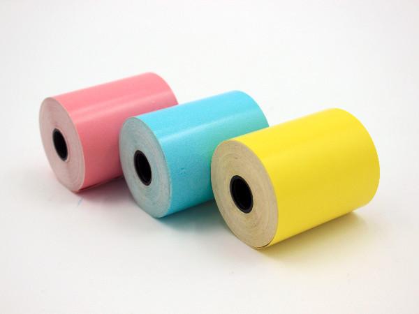 彩色不干胶贴纸是如何进行印刷的