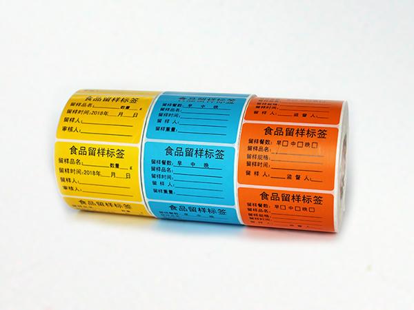 食品不干胶标签在超市中有什么作用