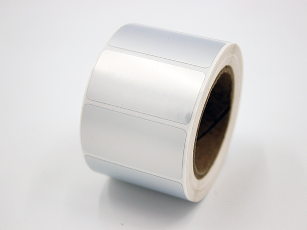 亚银PVC不干胶标签