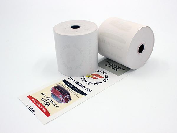 热敏纸小票上的文字和图案是怎么形成的